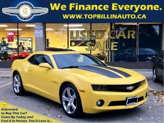 Used 2011 Chevrolet Camaro LT Sunroof, 6 Speed, 108K kms for sale in Concord, ON