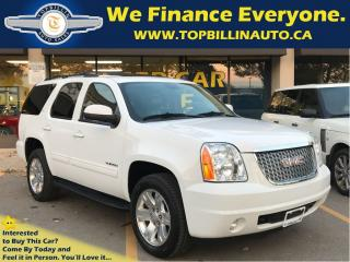 Used 2011 GMC Yukon SLT LEATHER, SUNROOF, 2 YEARS WARRANTY for sale in Concord, ON