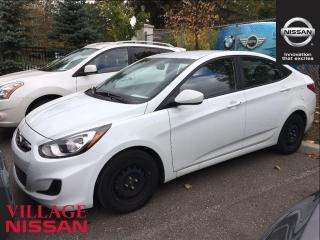 Used 2014 Hyundai Accent L for sale in Unionville, ON