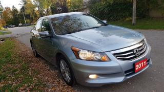 Used 2011 Honda Accord Sedan EX-L Navi,P.LEATHER seats,Bluetooth,P.Sunroof for sale in Scarborough, ON