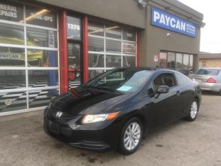 Used 2012 Honda Civic Cpe EX-L for sale in Kitchener, ON