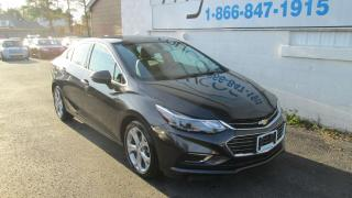 Used 2017 Chevrolet Cruze Premier Auto for sale in Richmond, ON
