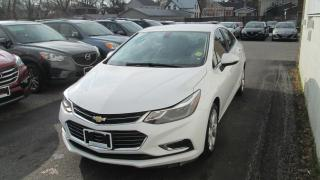 Used 2017 Chevrolet Cruze Premier Auto for sale in North Bay, ON