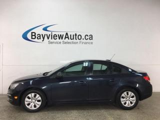 Used 2016 Chevrolet Cruze Limited 1LS - 6SPD! ONSTAR! PWR GROUP! for sale in Belleville, ON