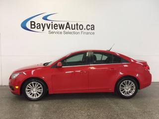 Used 2014 Chevrolet Cruze - TURBO! 6 SPEED! CHROMES! A/C! ON STAR! CRUISE! for sale in Belleville, ON