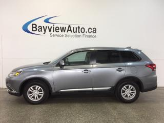 Used 2017 Mitsubishi Outlander ES- AWD|ALLOYS|HTD STS|REV CAL|BLUETOOTH|CRUISE! for sale in Belleville, ON