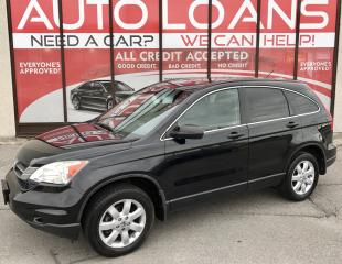 Used 2011 Honda CR-V LX-ALL CREDIT ACCEPTED for sale in Scarborough, ON