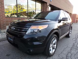 Used 2014 Ford Explorer Limited 7 Passenger, Leather for sale in Woodbridge, ON