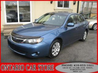 Used 2009 Subaru Impreza AWD 4DR. SEDAN for sale in Toronto, ON