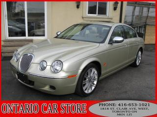 Used 2008 Jaguar S-Type 3.0 LEATHER SUNROOF for sale in Toronto, ON