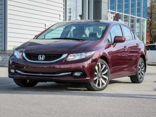 Used 2014 Honda Civic LEATHER NAVI ROOF for sale in Scarborough, ON