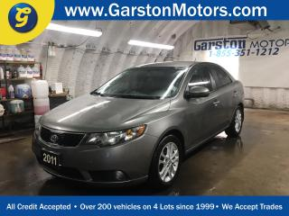 Used 2011 Kia Forte EX*PHONE CONNECT*HEATED FRONT SEATS*KEYLESS ENTRY*POWER WINDOWS/LOCKS/MIRRORS*CLIMATE CONTROL* for sale in Cambridge, ON