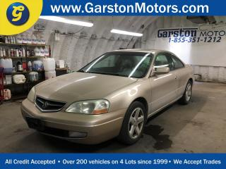 Used 2002 Acura CL Type-S*******AS IS SALE*******LEATHER*POWER HEATED FRONT SEATS*POWER SUNROOF*BOSE AUDIO*KEYLESS ENTRY*POWER WINDOWS/LOCKS/MIRRORS*CLIMATE CONTROL* for sale in Cambridge, ON