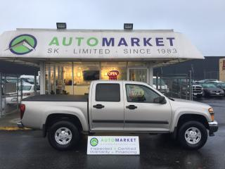 Used 2007 GMC Canyon SLE1 CREW CAB! FINANCE IT! for sale in Langley, BC