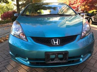 Used 2012 Honda Fit JUST TRADE IN,5SP MANUAL,LOCAL,NO ACCIDENT for sale in Vancouver, BC