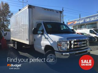 Used 2016 Ford Econoline 16' Cube Van, Pull Out Ramp, Certified for sale in Vancouver, BC