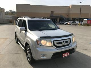 Used 2009 Honda Pilot Touring, 8 passengers, 4WD, navigation, DVD, certi for sale in North York, ON