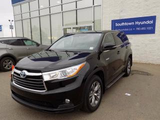 Used 2014 Toyota Highlander HYBRID LE for sale in Edmonton, AB