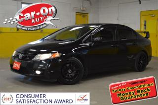 Used 2011 Honda Civic Si 197 HP SUNROOF PWR GRP ALLOYS for sale in Ottawa, ON