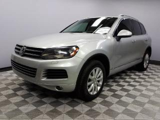 Used 2013 Volkswagen Touareg 3.6L Comfortline 4MOTION - Local 2nd Owner Trade In | No Accidents | 3M Protection Applied | Heated Leather Seats | Dual Zone Climate Control with AC | Panoramic Sunroof | Trailer Hitch | Bluetooth | 18 Inch Wheels | Power Liftgate | Navigation | Back Up  for sale in Edmonton, AB