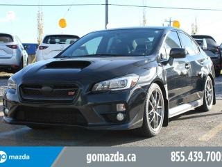 Used 2015 Subaru WRX STI Sport-tech Package LEATHER SUNROOF NAVIGATION BRAND NEW TIRES ACCIDENT FREE for sale in Edmonton, AB