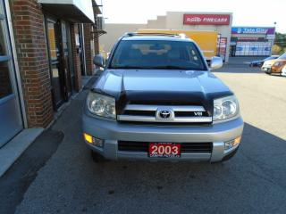 Used 2003 Toyota 4Runner LIMITED V8 for sale in Scarborough, ON