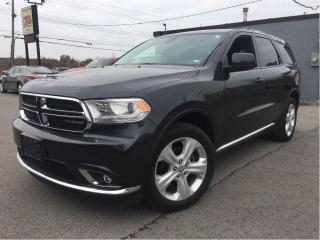 Used 2015 Dodge Durango SXT AWD 7 PASSENGER 20 WHEELS for sale in St Catharines, ON