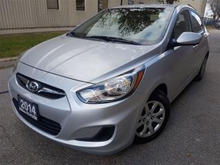Used 2014 Hyundai Accent GL-Bluetooth-heated seats-Super clean for sale in Mississauga, ON