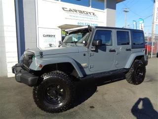 Used 2015 Jeep Wrangler Unlimited Sahara 4x4, LIFTED, 35 Inch Tires for sale in Langley, BC