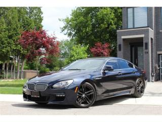Used 2013 BMW 650i Gran Coupe Coupé*Immaculate*F06 Body*XDrive*M Pkg*Mint for sale in Mississauga, ON