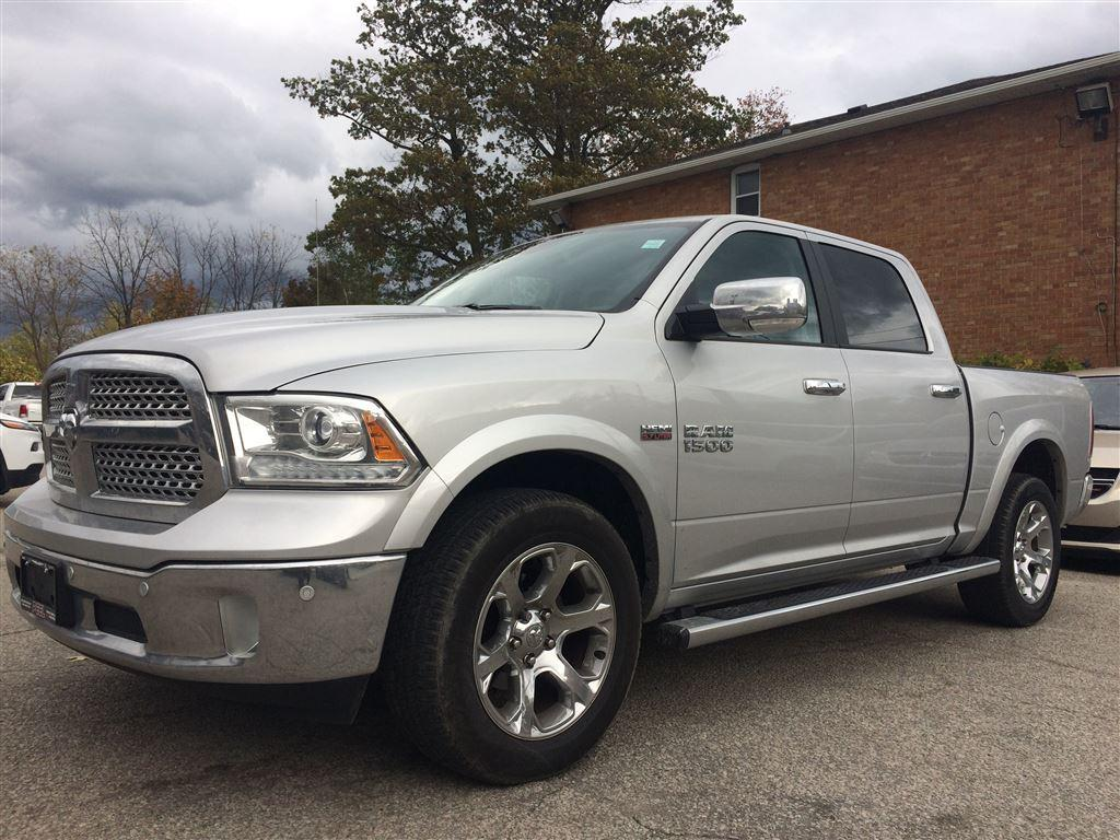 used 2017 dodge ram 1500 laramieheated seatswheelnav