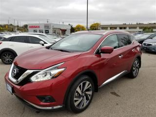 Used 2017 Nissan Murano Platinum DEMO|FULLY LOADED|GPS|LED|MOONROOF| for sale in Scarborough, ON