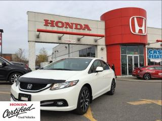 Used 2013 Honda Civic Touring, one owner, loaded for sale in Scarborough, ON