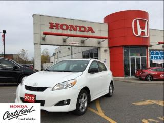 Used 2012 Toyota Matrix Base (A4), alloys, sunroof, beauty for sale in Scarborough, ON