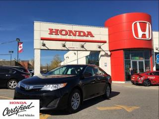 Used 2014 Toyota Camry LE, one owner, local car, clean carproof for sale in Scarborough, ON
