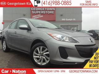 Used 2013 Mazda MAZDA3 GS-SKY | CLEAN CARPROOF | SUNROOF | HEATED SEATS | for sale in Georgetown, ON