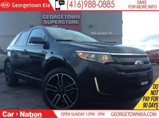 Used 2014 Ford Edge SEL | NAVI | AWD | PANO ROOF | LEATHER | BACK CAM for sale in Georgetown, ON