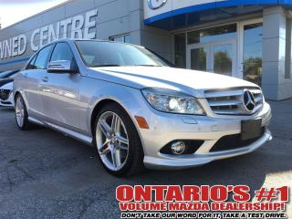 Used 2010 Mercedes-Benz C-Class 350 4MATIC AMG PKG /NAVIGATION/PANORAMIC - TORONTO for sale in North York, ON