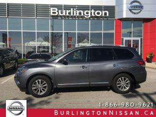 Used 2016 Nissan Pathfinder SL, NAVi, MOONROOF, EXTENDED WARRANTY ! for sale in Burlington, ON
