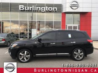 Used 2015 Nissan Pathfinder Platinum, ACCIDENT FREE !, EXTENDED WARRANTY for sale in Burlington, ON