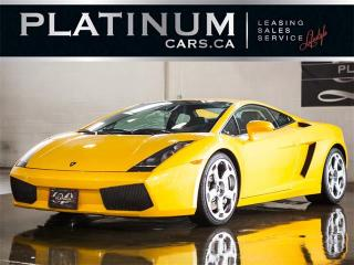 Used 2004 Lamborghini Gallardo V10 500HP AWD, E-GEAR PADDLE SHIFT, NAVI, CAMERA for sale in North York, ON