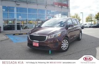 Used 2018 Kia Sedona L for sale in Pickering, ON