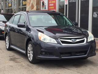 Used 2010 Subaru Legacy Limited Pwr Moon/Navigation for sale in Etobicoke, ON