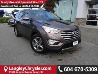 Used 2015 Hyundai Santa Fe XL Luxury *ACCIDENT FREE*ONE OWNER*LOCAL BC CAR* for sale in Surrey, BC