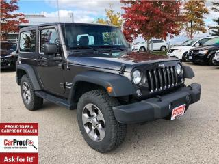 Used 2016 Jeep Wrangler SPORT**HARD TOP**A/C**AUTOMATIC** for sale in Mississauga, ON