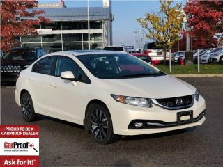 Used 2013 Honda Civic TOURING**LEATHER**NAVIGATION for sale in Mississauga, ON