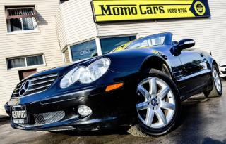 Used 2003 Mercedes-Benz SL500 SL500! V8 5.0L Convertible Hard Top! Leather! BOSE for sale in St Catharines, ON