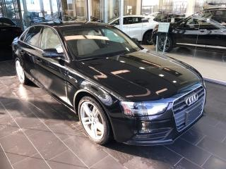 Used 2014 Audi A4 Technik, Blind Spot, Bang and Olufsen Sound for sale in Edmonton, AB