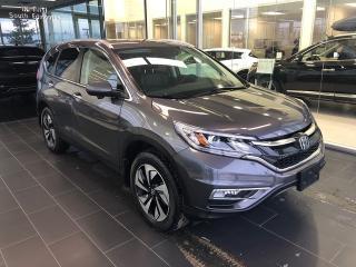 Used 2015 Honda CR-V Touring, Lane Assist, Blind Spot Assist for sale in Edmonton, AB
