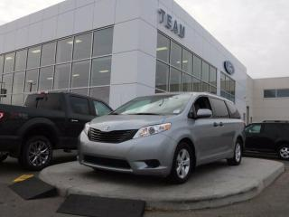 Used 2016 Toyota Sienna 7 PASSENGER, ACCIDENT FREE, BLUETOOTH, CRUISE, ROOF RAILS, REAR CAMERA, CLTH, FWD for sale in Edmonton, AB